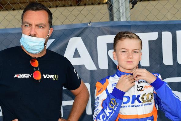 Augustin Bernier repart avec VDK Racing en 2021, avec plus d'expérience