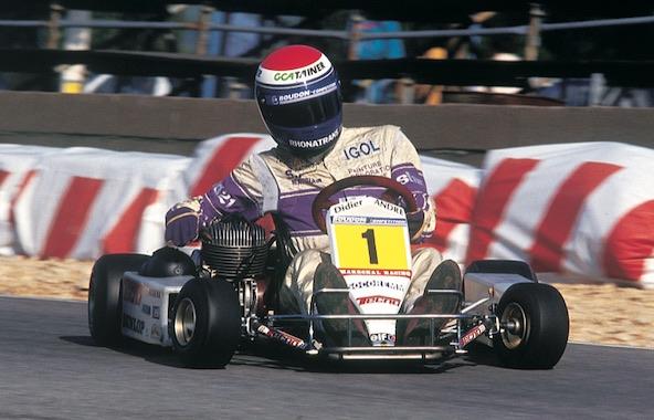 Didier André dans les années 90