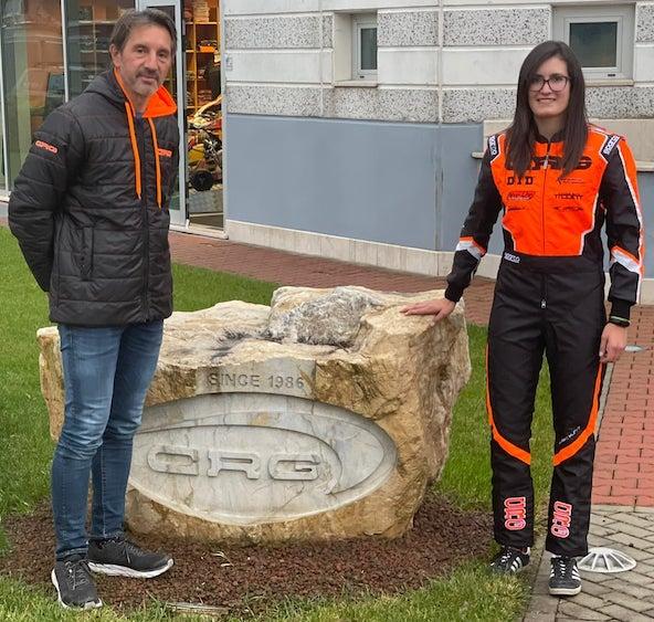 Tatiana et deux autres pilotes du team MGM Motorsport vont désormais collaborer avec CRG