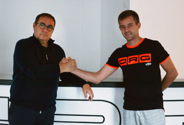 Giancarlo Tinini avec Jorge Pescador