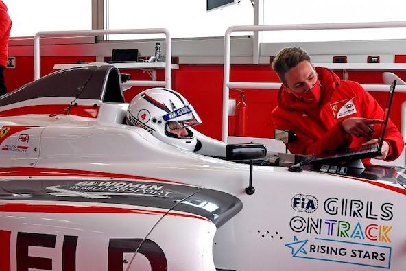 Maya Weug-Du OK a la F4 avec la Ferrari Driver Academy-3