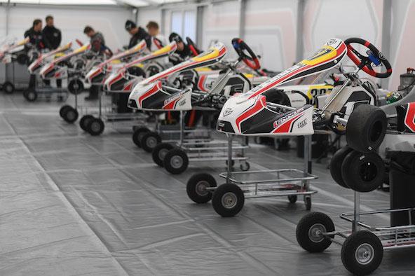 13 pilotes issus de 9 nationalites chez Lennox Racing-Charles Leclerc