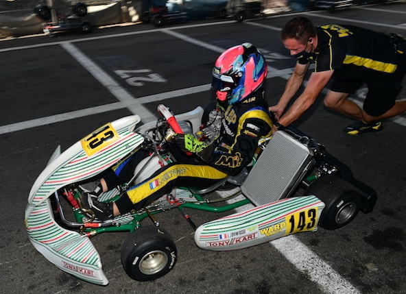 Actualisation de la liste des sportifs de haut niveau en karting