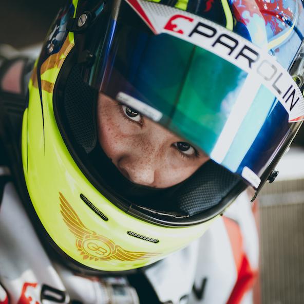 Guillaume Bouzar engagé en OK Junior (Photo Parolin Motorsport / KSP Reportages)