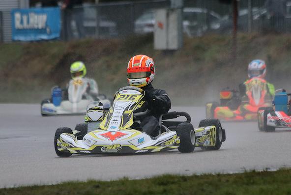 Victoire du Néerlandais Tim Gerhards en Rotax Junior