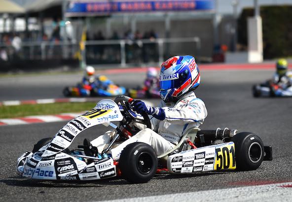 René Lammers, victoire et titre en 60 Mini
