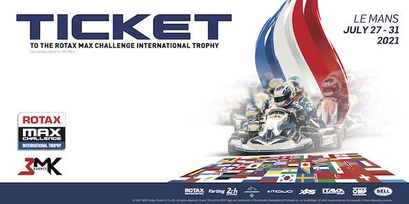 Gagnez votre place pour le Rotax Challenge International Trophy au Mans