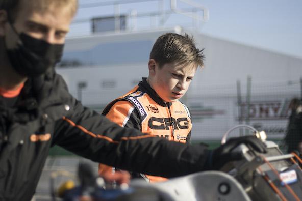 Engagé sous les couleurs CRG à Genk, le Français Arthur Rogeon vient d'intégrer le team Ward Racing à partir de cette épreuve