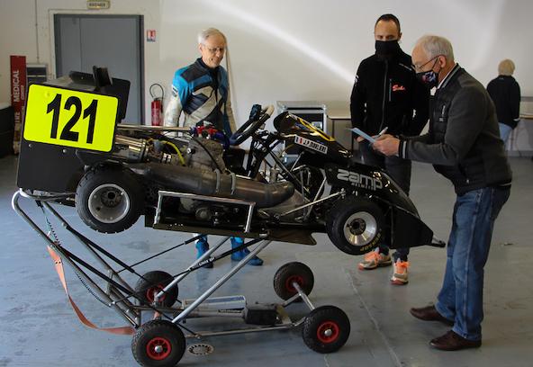 Jean-Pierre Marlière et son moteur Rübig