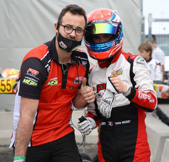 Une pole position et moins de réussite par la suite pour Sacha Maguet