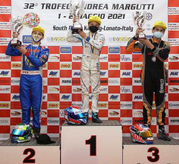 3e place pour Paul Alberto en X30 Junior