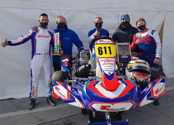 3 victoires en 3 courses pour Eric Chapon en Italie