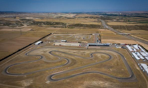 Le circuit de Zuera en Espagne (Photo FIA Karting / KSP Reportages)