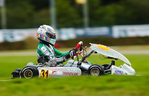 Le Suédois Noah Milell avait réussi de belles choses en 2020 avec son Tony Kart-Vortex