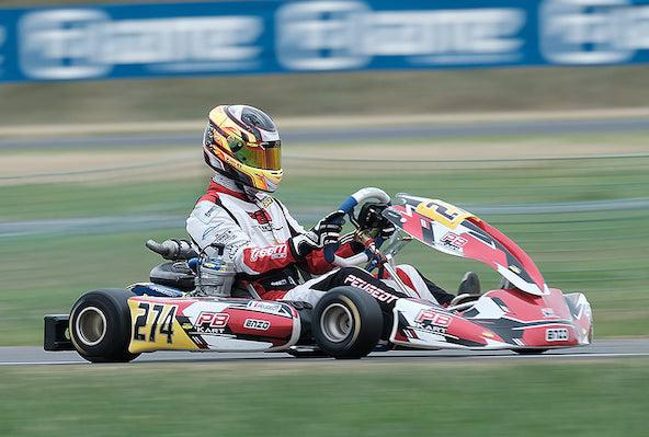 Enzo Peugeot, 1er en X30 Senior