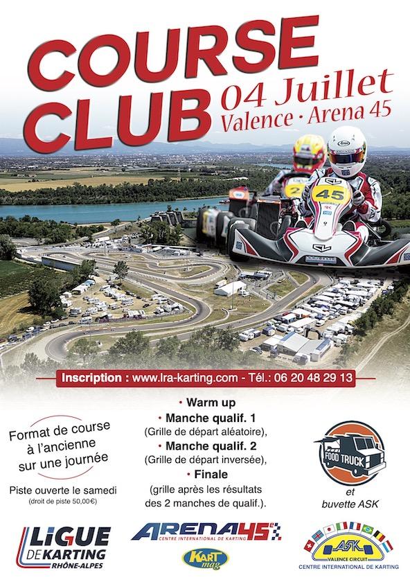 Rendez-vous dimanche 4 juillet a l Arena 45 de Valence