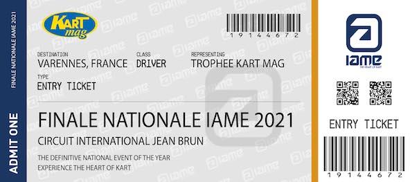 Trophee Kart Mag-Inscriptions a gagner a la RMCIT en IAME et au Kart Festival-2