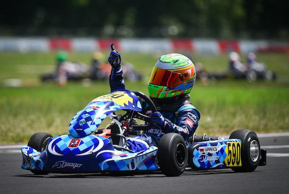 Ivannikov gagne en 60 Mini à Sarno