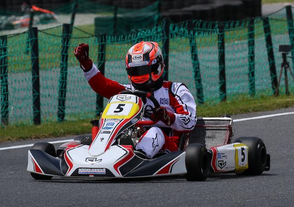 Pierre Loubère s'impose en KZ2