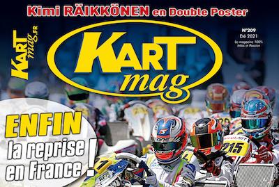 Lecture estivale avec le numéro 209 (été 2021) de Kart Mag