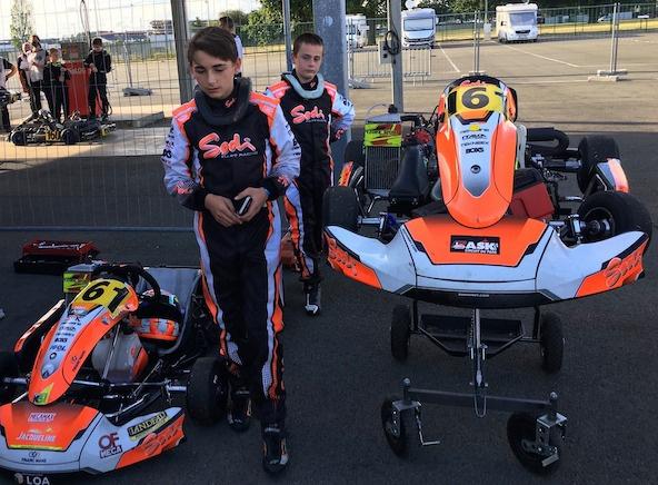 Endurance Minime-Cadet: Des débuts timides au Mans