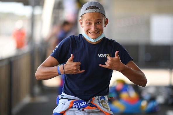 Evan Giltaire en OK (Photo VDK Racing / LRN Photo)