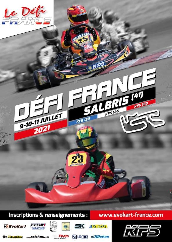 Le Defi France KFS revient les 9 10 11 juillet a Salbris-1