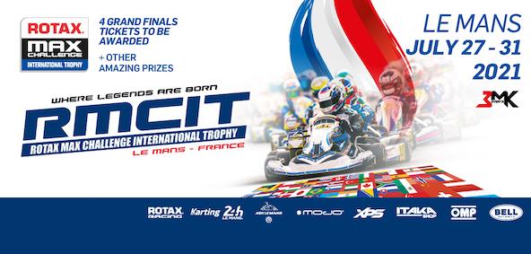 Suivez en live le Rotax Max Challenge International Trophy 2021 au Mans-