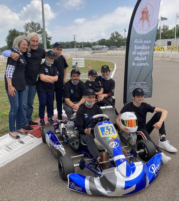 Une association aidant les enfants atteints de cancer au Trophee Kart Mag-2