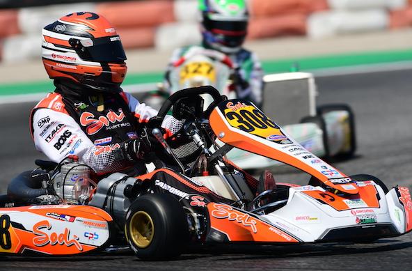 Arthur Carbonnel, 4e de la finale en KZ2