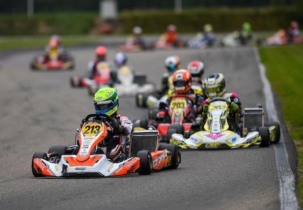 Une nouvelle victoire en KZ2 pour le leader du championnat Senna Van Walstijn