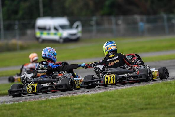 Doublé pour le team SRP en Course 2 en KZ2 National