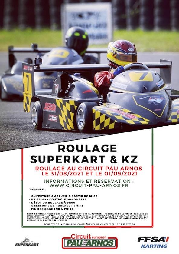 Deux jours d essais pour preparer le Championnat de France a Pau-2