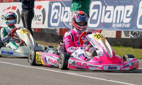 Top-5 final pour Enzo Leveque en X30 Senior