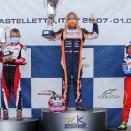 IAME Euro Series à Castelletto: Thomas Pradier sur le podium !