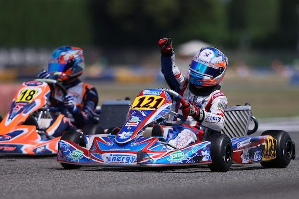 , vainqueur en X30 Junior