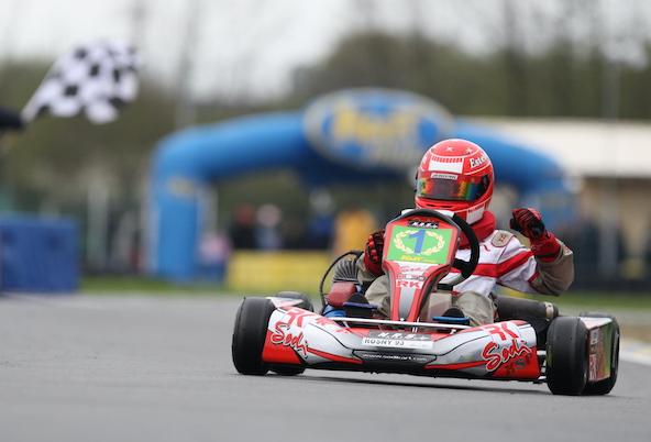 Bravo à notre ancien Champion de karting, aujourd'hui vainqueur de son premier Grand Prix de F1 !