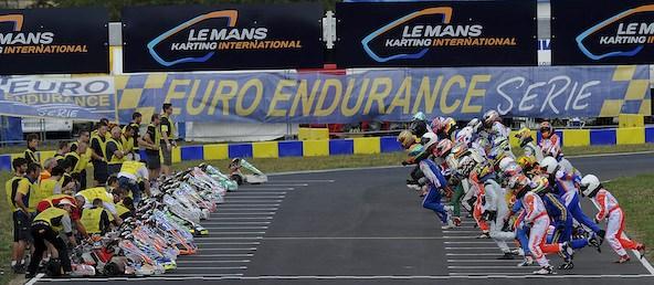 Le plateau des 24H du Mans Karting a souvent eu fière allure, comme ici en 2013.