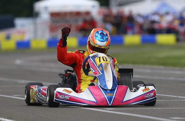 Victoire pour le Français Rudy Champion en Rotax DD2 Master