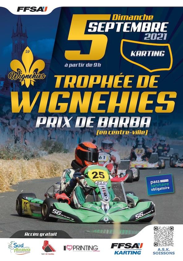Wignehies-Une course en centre en ville unique en France