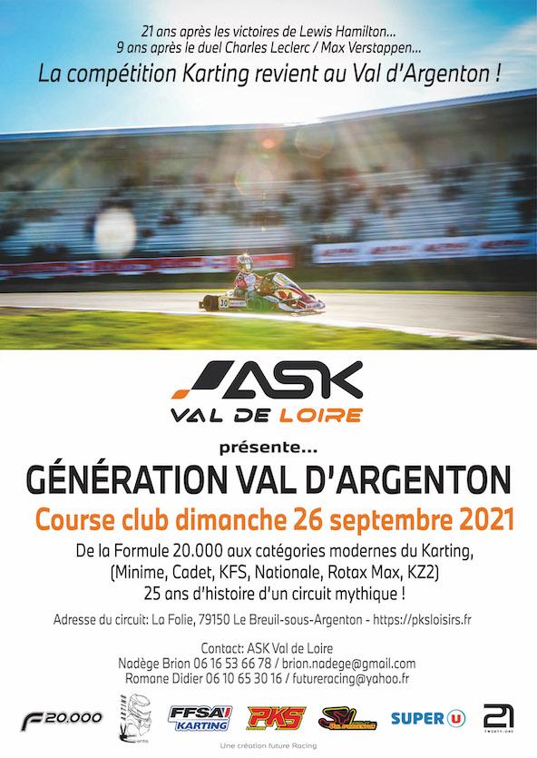 26 septembre-Tous au Val d Argenton du Minime au KZ-2
