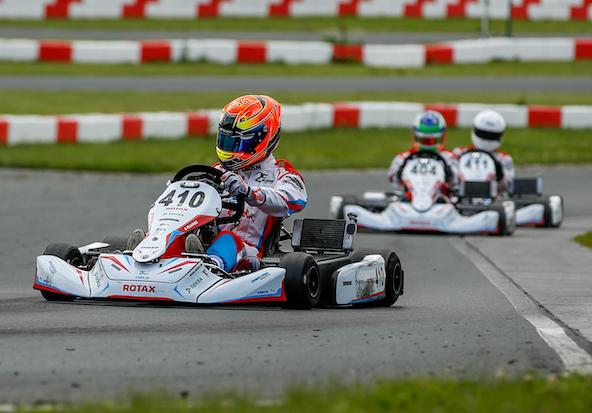 Oscar Pellemele champion e-Kart