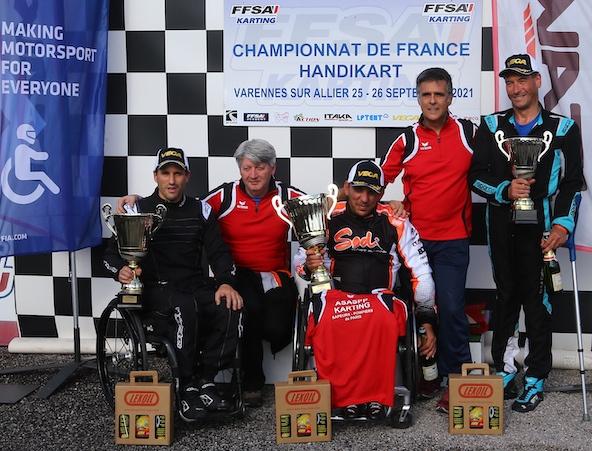 Handikart Varennes: Omar Megari devient Champion de France