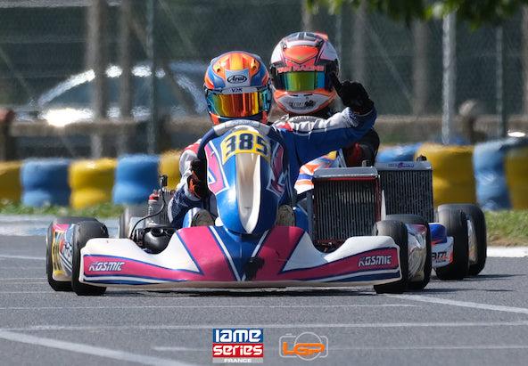 Magnifique prestation de Romain Andriolo, vainqueur en X30 Senior