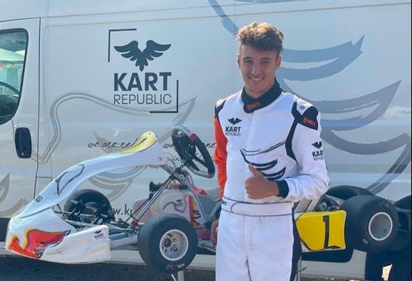 Vainqueur de l'International Supercup KZ2 en 2019 avec Sodi et CPP Sport, 12e du championnat du Monde KZ en 2020 avec Tony Kart et 3e du Championnat d'Europe KZ en 2021 avec Intrepid, Emilien Denner attend beaucoup de sa nouvelle collaboration avec Kart Republic