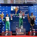 Milell et Tony Kart Champions du Monde KZ, Travisanutto gagne en KZ2