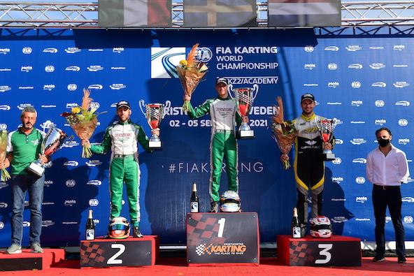 Triomphe pour Tony Kart et Vortex avec Noah Milell et Lorenzo Camplese. Jorrit Pex est 3e