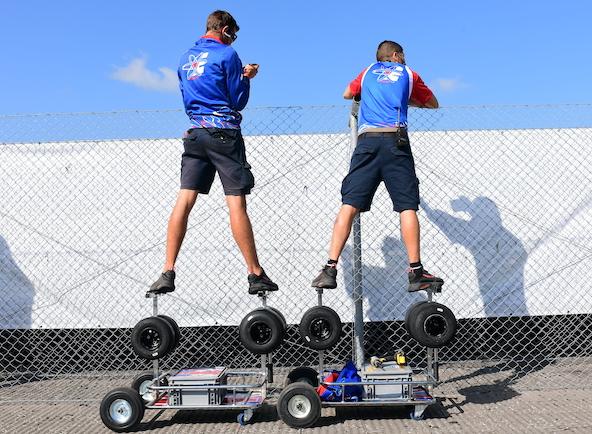 Milell et Tony Kart Champions du Monde KZ Travisanutto gagne en KZ2-10