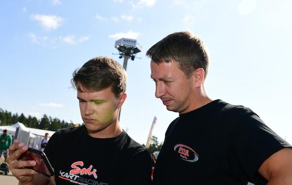 Milell et Tony Kart Champions du Monde KZ Travisanutto gagne en KZ2-12