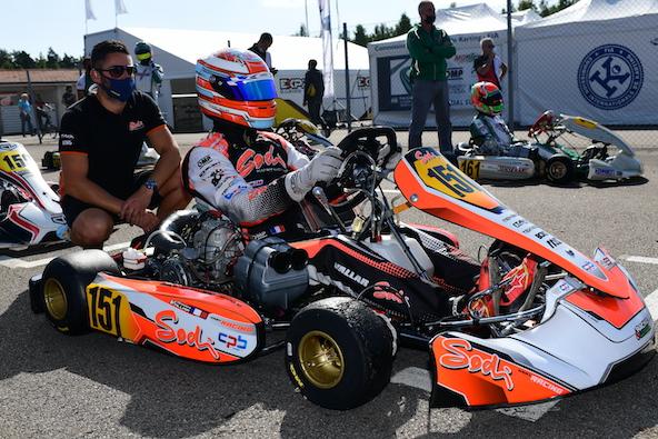 Milell et Tony Kart Champions du Monde KZ Travisanutto gagne en KZ2-13